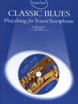 Guest Spot - Classic Blues Playalong For Saxophone Tenor laflutedepan.com