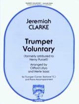 Jeremiah Clarke - Trumpet Voluntary - Partition - di-arezzo.fr