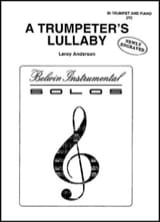 Leroy Anderson - A trumpeter's lullaby - Sheet Music - di-arezzo.com
