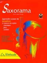 Saxorama la Méthode Partition Saxophone - laflutedepan.com