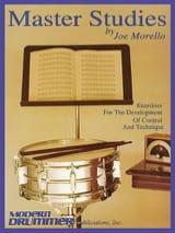 Joe Morello - Master Studies - Sheet Music - di-arezzo.co.uk