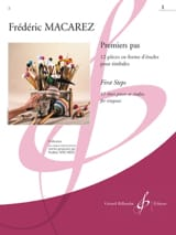 Frédéric Macarez - First steps Volume 1 - Sheet Music - di-arezzo.co.uk