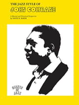 The Jazz Style Of John Coltrane John Coltrane Partition laflutedepan