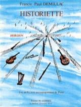 Francis-Paul Demillac - Historiette. Cor - Partition - di-arezzo.fr