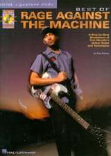 Against The Machine Rage - Best Of Guitare - Partition - di-arezzo.fr