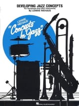 Developing Jazz Concepts - Lennie Niehaus - laflutedepan.com