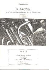 Christian Jous - khâgne - Sheet Music - di-arezzo.com