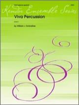William J. Schinstine - Viva percusión - Partitura - di-arezzo.es