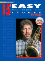 15 Easy Jazz, Blues, Funk Etudes Bob Mintzer laflutedepan.com