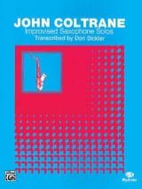 Improvised Saxophone Solos - John Coltrane - laflutedepan.com