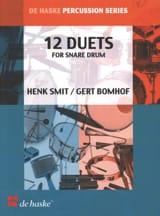 Snare Drum (12 Duets) Henk Smit & Gert Bomhof laflutedepan.com