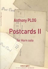 Postcards II Anthony Plog Partition Cor - laflutedepan