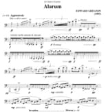 Edward Gregson - Alarum - Sheet Music - di-arezzo.co.uk