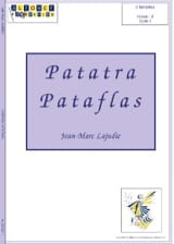 Patatra Pataflas J.M. Lajudie Partition laflutedepan.com