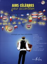 Manu Maugain - Famous Airs For Accordion - Sheet Music - di-arezzo.com