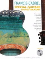 Françis Cabrel - Off Season Special Guitar - Sheet Music - di-arezzo.co.uk