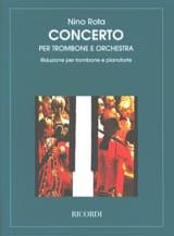 Concerto Nino Rota Partition Trombone - laflutedepan.com
