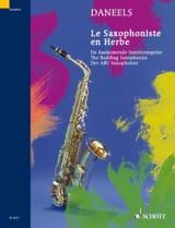 François Daneels - Le Saxophoniste En Herbe - Partition - di-arezzo.fr