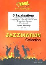 5 Jazzinations Dennis Armitage Partition Trompette - laflutedepan