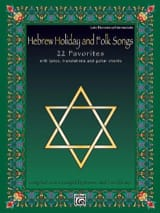 - Hebrew Holiday And Folk Songs - Partition - di-arezzo.ch