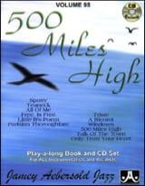 Jamey Aebersold - Volume 95 - 500 Miles High - Partition - di-arezzo.fr