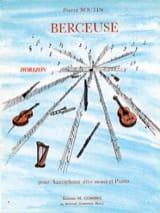 Berceuse Pierre Boutin Partition Saxophone - laflutedepan.com