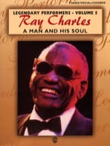 Ray Charles - A Man And His Soul Legendary Performers Volume 5 - Sheet Music - di-arezzo.co.uk