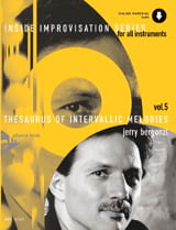 Jerry Bergonzi - Volume 5 - Thesaurus Of Intervallic Melodies - Sheet Music - di-arezzo.com