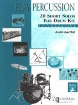 20 Short Solos For Drum Kit - Elementary / Intermediate laflutedepan.com