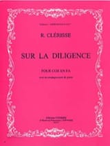 Robert Clérisse - On the Diligence - Sheet Music - di-arezzo.com