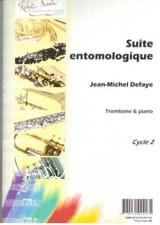 Jean-Michel Defaye - Suite Entomologique - Partition - di-arezzo.fr