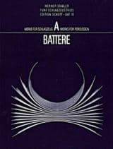 Fünf Schlagzeugtrios Werner Stadler Partition laflutedepan.com