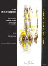 12 Etudes Mélodiques Jules Demersseman Partition laflutedepan.com