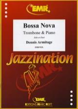 Bossa Nova Dennis Armitage Partition Trombone - laflutedepan.com