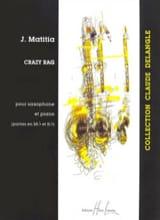 Jean Matitia - Crazy Rag - Sheet Music - di-arezzo.co.uk