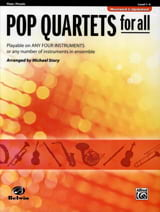 Michael Story - Pop quartets for all - Partition - di-arezzo.fr