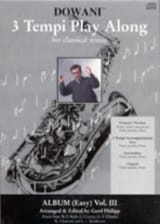 3 Tempi Play Along, Album Easy Volume 3 - laflutedepan.com