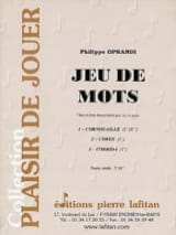 Philippe Oprandi - Play on words - Sheet Music - di-arezzo.co.uk