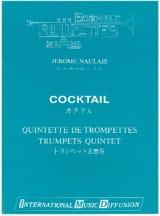 Cocktail Jérôme Naulais Partition Trompette - laflutedepan.com
