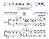 Pascal Obispo - Et un jour une femme - Partition - di-arezzo.fr