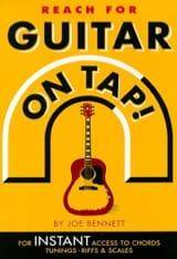 Reach For Guitar On Tap Joe Bennett Partition laflutedepan.com