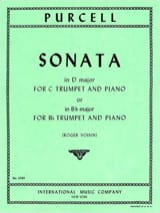 Sonate - Henry Purcell - Partition - Trompette - laflutedepan.com