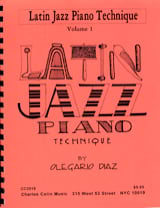Latin Jazz Piano Téchnique Olegario Diaz Partition laflutedepan.com