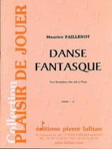 Maurice Faillenot - Danse Fantasque - Partition - di-arezzo.fr