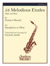 Gustavo Rossari - 53 Melodious Etudes Volume 2 - Partition - di-arezzo.fr