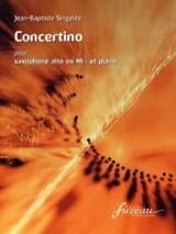Concertino Opus 78 Jean-Baptiste Singelée Partition laflutedepan.com