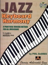 Jazz Keyboard Harmony Phil Degreg Partition Jazz - laflutedepan.com