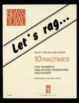 Let's Rag... 10 Ragtimes JOPLIN Partition Trompette - laflutedepan