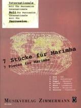 7 Stücke Für Marimba - Partition - Marimba - laflutedepan.com
