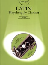 Guest Spot - Latin Playalong For Clarinet Partition laflutedepan.com